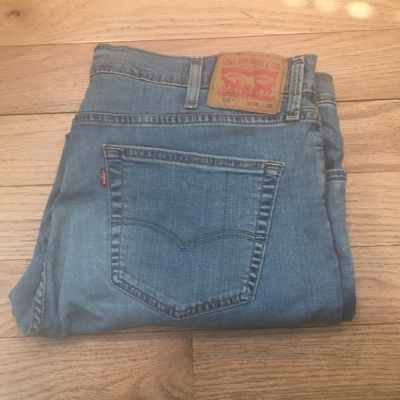 ef4a6baadaa Levi's Jeans | Levis Mens 541 Athletic Fit Stretch | Poshmark